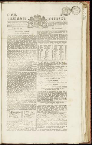 Alkmaarsche Courant 1843-11-27