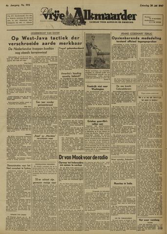 De Vrije Alkmaarder 1947-07-26