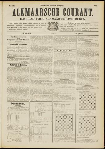 Alkmaarsche Courant 1910-07-29