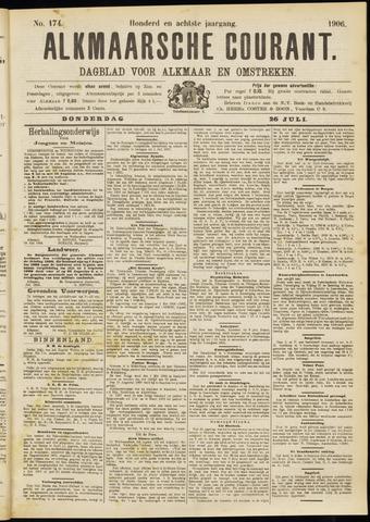 Alkmaarsche Courant 1906-07-26