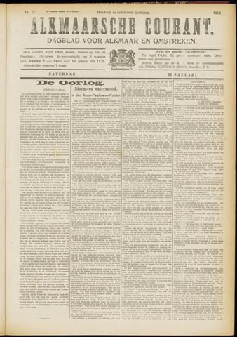Alkmaarsche Courant 1916-01-15