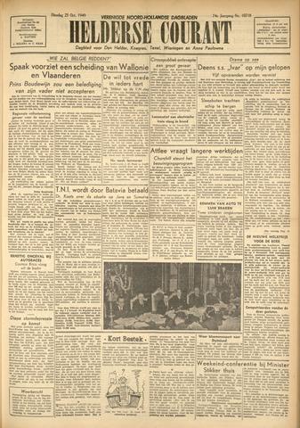 Heldersche Courant 1949-10-25