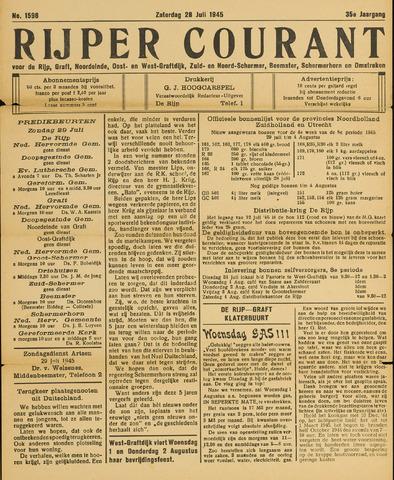 Rijper Courant 1945-07-28