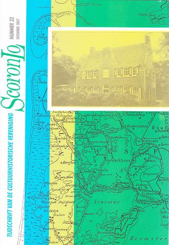 Tijdschrift van cultuurhistorische vereniging Scoronlo 2007-12-01