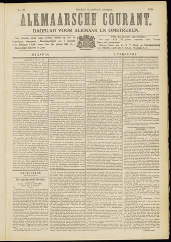Alkmaarsche Courant 1914-02-02