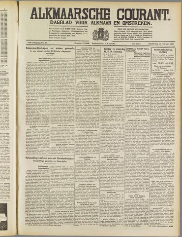 Alkmaarsche Courant 1941-02-13