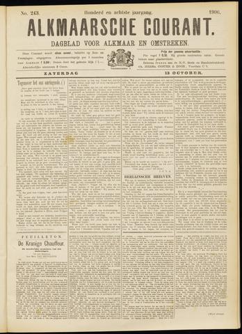 Alkmaarsche Courant 1906-10-13