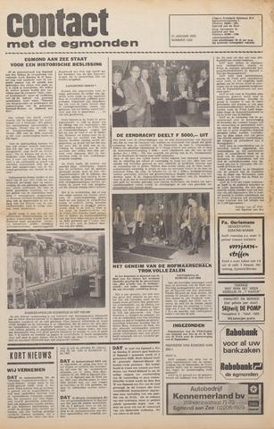 Contact met de Egmonden 1976-01-21