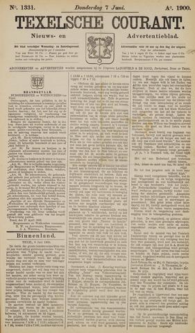 Texelsche Courant 1900-06-07