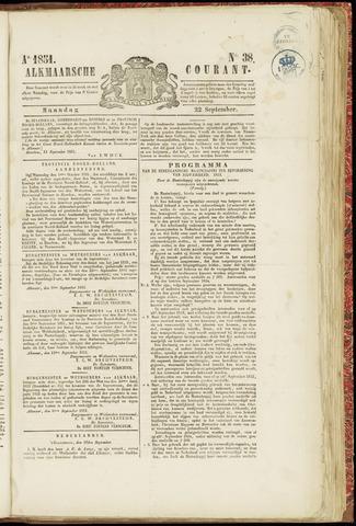 Alkmaarsche Courant 1851-09-22