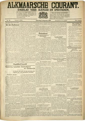 Alkmaarsche Courant 1933-08-05