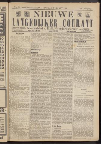 Nieuwe Langedijker Courant 1931-03-31