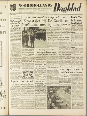 Noordhollands Dagblad : dagblad voor Alkmaar en omgeving 1960-05-16