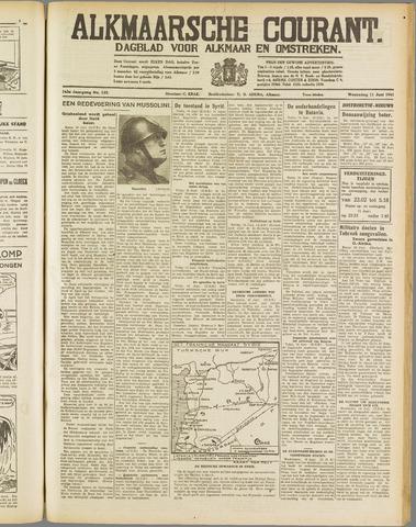 Alkmaarsche Courant 1941-06-11