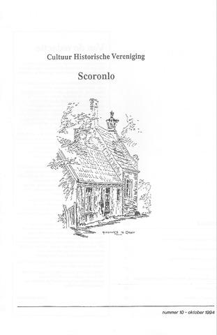 Tijdschrift van cultuurhistorische vereniging Scoronlo 1994-10-01