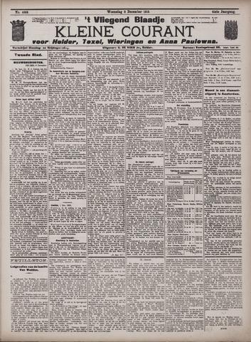 Vliegend blaadje : nieuws- en advertentiebode voor Den Helder 1913-12-03