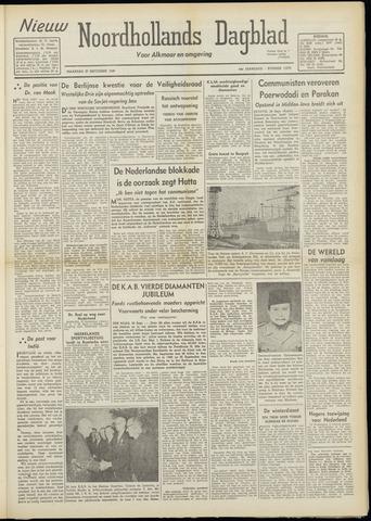 Nieuw Noordhollandsch Dagblad : voor Alkmaar en omgeving 1948-09-27