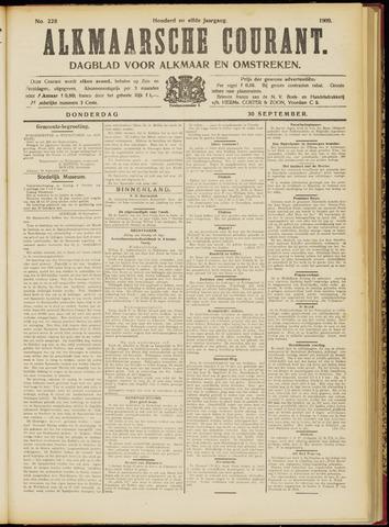 Alkmaarsche Courant 1909-09-30