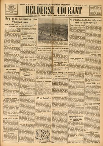 Heldersche Courant 1949-01-26