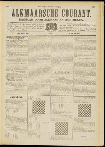 Alkmaarsche Courant 1910-01-03