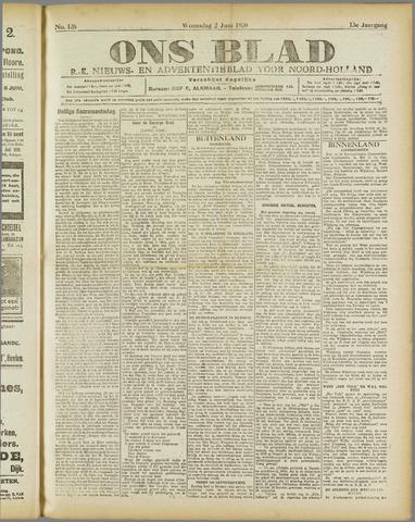 Ons Blad : katholiek nieuwsblad voor N-H 1920-06-02
