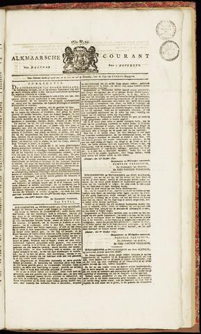 Alkmaarsche Courant 1830-11-01