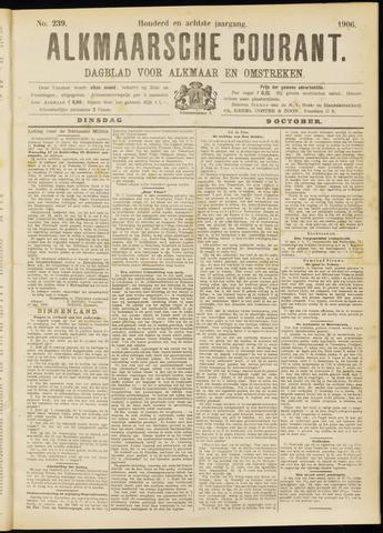 Alkmaarsche Courant 1906-10-09