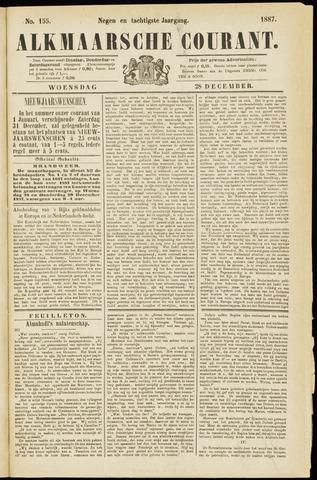 Alkmaarsche Courant 1887-12-28