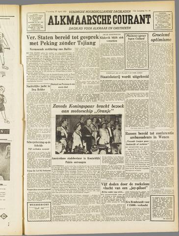 Alkmaarsche Courant 1955-04-27