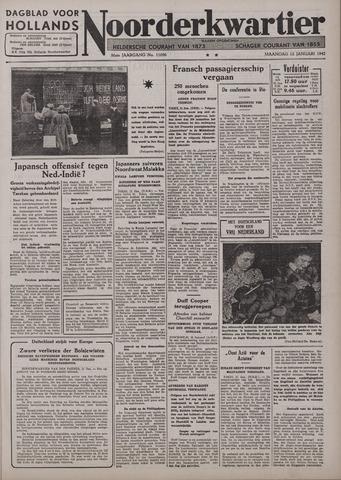 Dagblad voor Hollands Noorderkwartier 1942-01-12