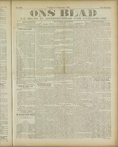 Ons Blad : katholiek nieuwsblad voor N-H 1920-12-17