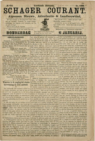 Schager Courant 1870