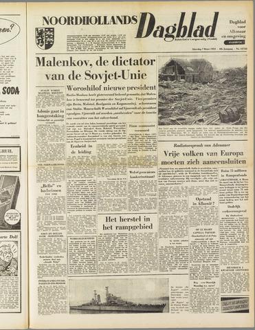 Noordhollands Dagblad : dagblad voor Alkmaar en omgeving 1953-03-07