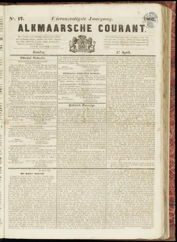 Alkmaarsche Courant 1862-04-27