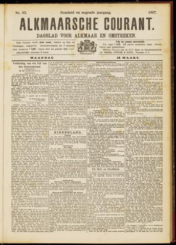 Alkmaarsche Courant 1907-03-18