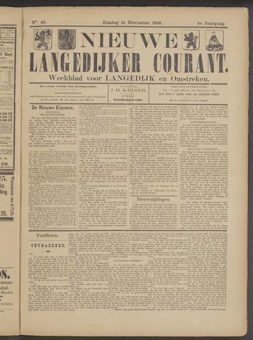 Nieuwe Langedijker Courant 1896-11-15