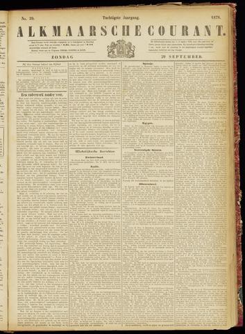 Alkmaarsche Courant 1878-09-29