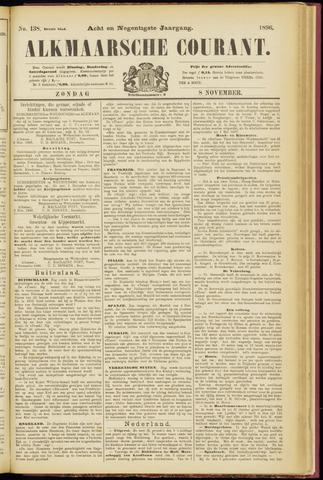 Alkmaarsche Courant 1896-11-08