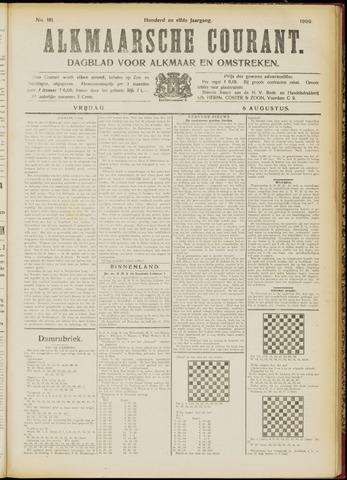 Alkmaarsche Courant 1909-08-06