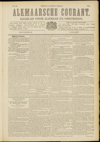 Alkmaarsche Courant 1914-03-05