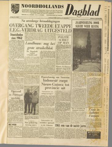 Noordhollands Dagblad : dagblad voor Alkmaar en omgeving 1962-01-02