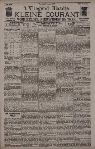 Vliegend blaadje : nieuws- en advertentiebode voor Den Helder 1896-01-08
