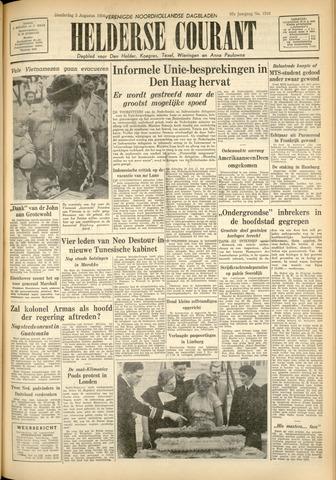 Heldersche Courant 1954-08-05