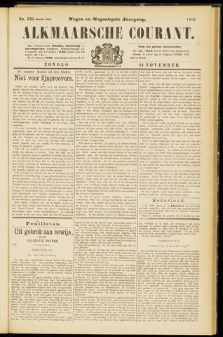 Alkmaarsche Courant 1897-11-14