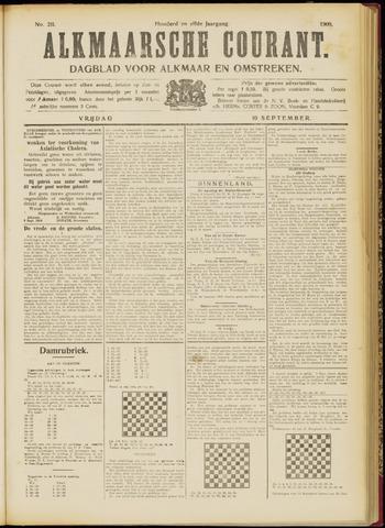 Alkmaarsche Courant 1909-09-10