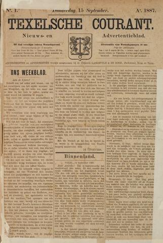 Texelsche Courant 1887