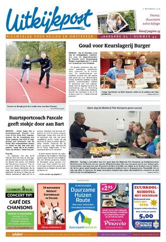 Uitkijkpost : nieuwsblad voor Heiloo e.o. 2018-11-07