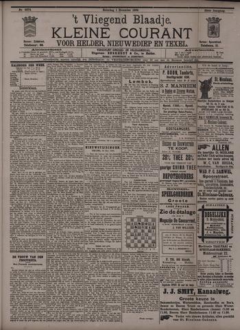 Vliegend blaadje : nieuws- en advertentiebode voor Den Helder 1894-12-01