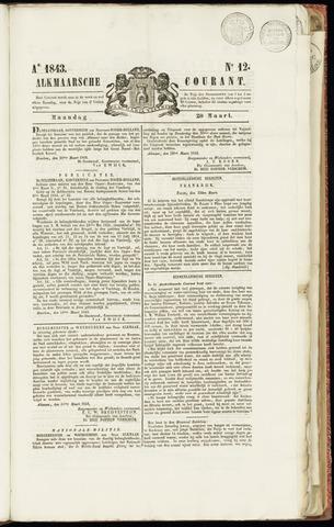 Alkmaarsche Courant 1843-03-20