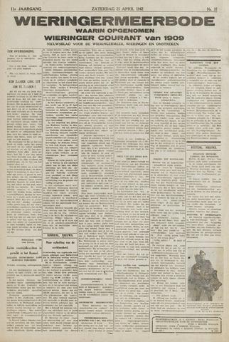 Wieringermeerbode 1942-04-25